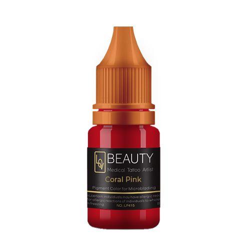 Pigmento Lov Beauty Coral Pink - Micropigmentação