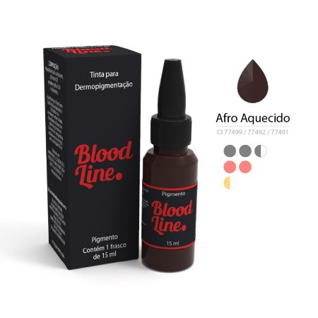 Pigmento Blood Line Afro Aquecido 15ml