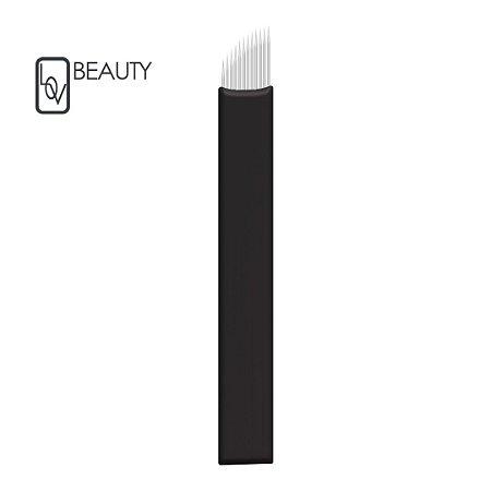 Lâmina Flex Chanfrada (Ultra Nano) 0,15mm Lov Beauty