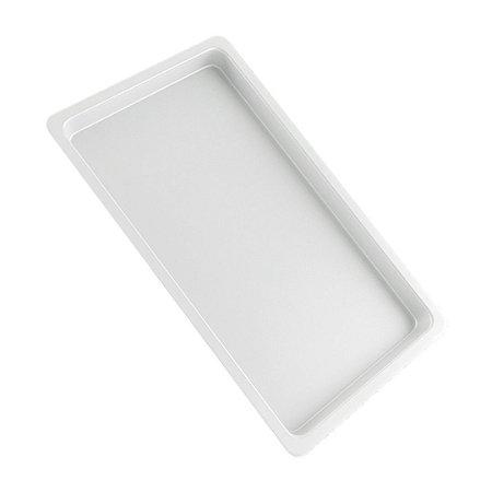Bandeja Branca Autoclavável 22x15x02cm