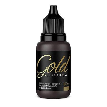 Pigmento Magcolor Gold Line Brow 10 ml - Negrito