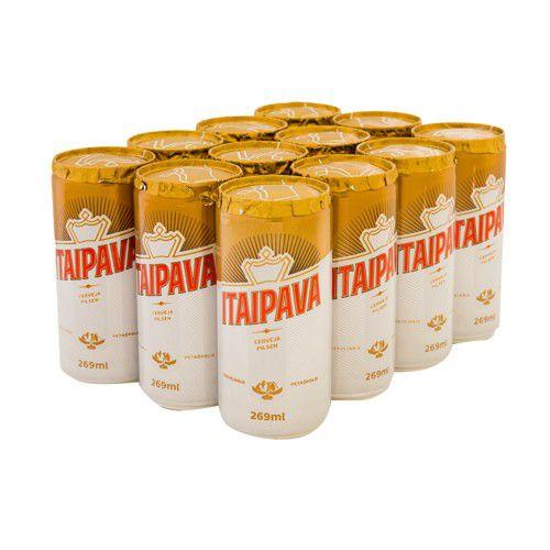 ITAIPAVA lata 269ml (caixa c/15)