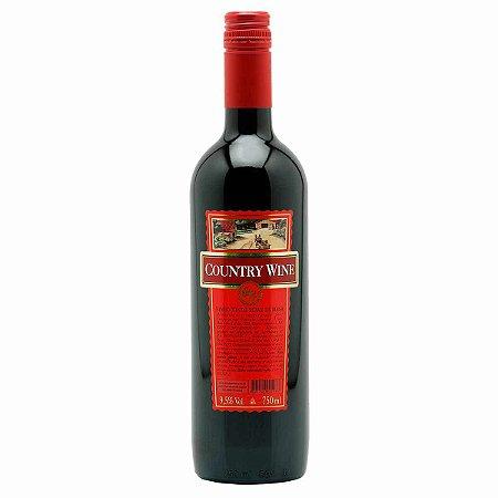 Vinho COUNTRY WINE Tinto Suave garrafa 750ml