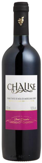Vinho CHALISE Tinto Suave garrafa 750ml