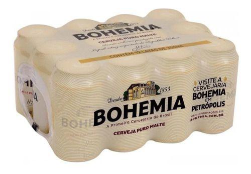 BOHEMIA lata 350ml (caixa c/12)