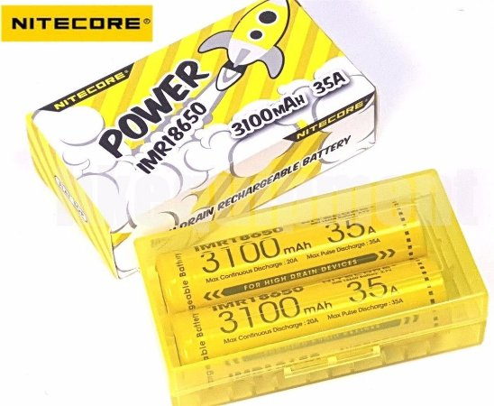 Bateria  Nitecore Power 3100mah - 18650