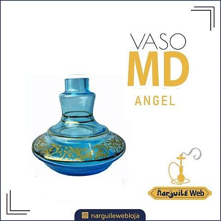 VASO MD ANGEL AZUL CLARO