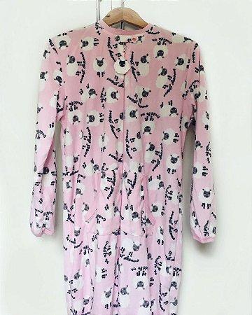 Pijama Carneirinhos Rosa