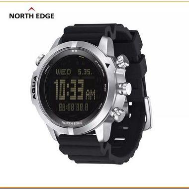 North edge Aqua masculino mergulho relógio digital mergulho