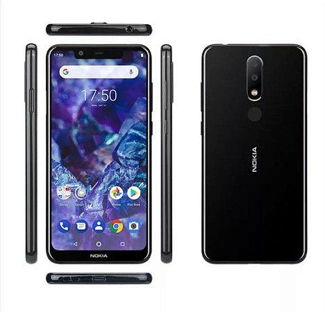 Nokia X5 5.49 Polegadas Android 8.1Impressao Digital 3GB 32 GB Rom Octa Core Produto Importado Compra Segura Em Nosso Site  Prazo de Entrega de até 35 Dias Uteis Dependendo da sua localização.