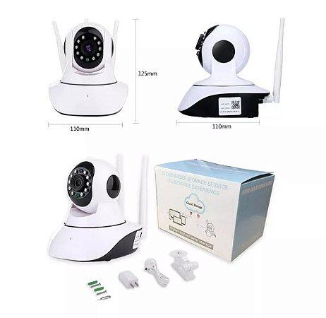 1080P WiFi Wireless / Wired IP Camera Home Security Surveillance Camera Pan & Tilt Night Vision Produto Importado Compra Segura Em Nosso Site  Prazo de Entrega de até 25 Dias Uteis Dependendo da sua localização.