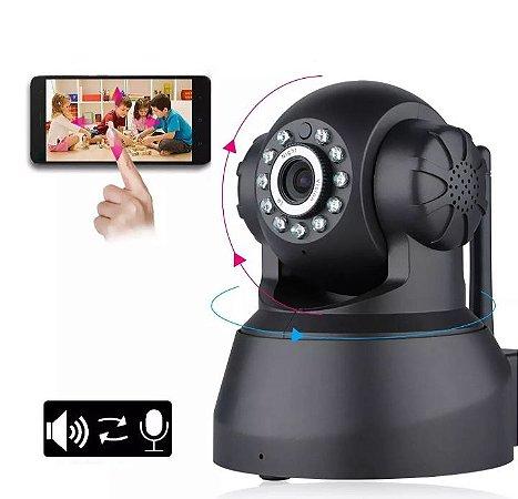Câmera HD 720P Wireless WiFi IP IR Segurança Webcam CAM Pan Tilt Baby Monitor Pet - Plug UE Produto Importado Compra Segura Em Nosso Site  Prazo de Entrega de até 25 Dias Uteis Dependendo da sua localização.