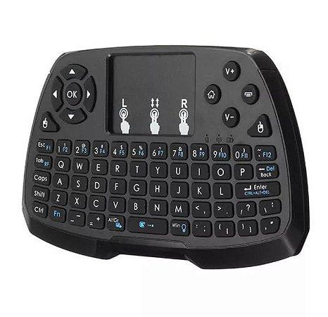 A3 2.4G Wireless Rechargeale Mini Teclado Touchpad Air Mouse para TV Caixa Mini PC