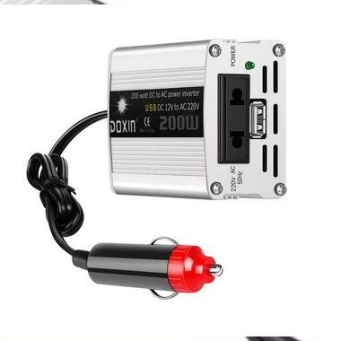 Conversor de voltagem dc 12v para ac 220v/usb 5v