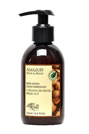 Loção Hidratante - Castanha 220ml - Arte dos Aromas