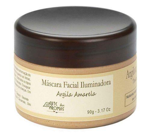 Máscara Facial - Argila Amarela 90g - Arte dos Aromas