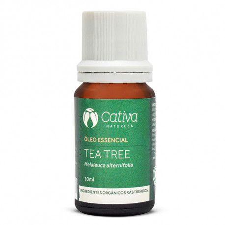 Óleo Essencial de Tea Tree 10ml  - Cativa Natureza