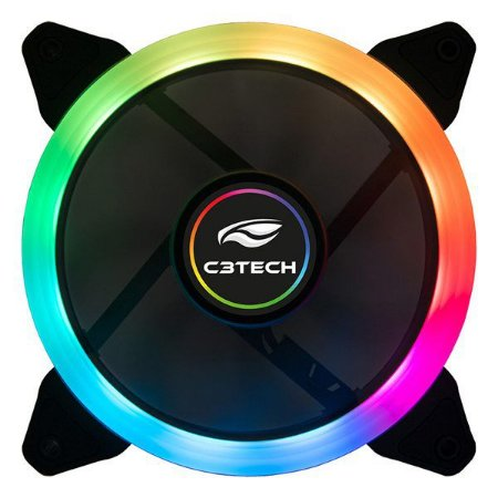 Cooler para gabinete C3Tech F7-L210RGB