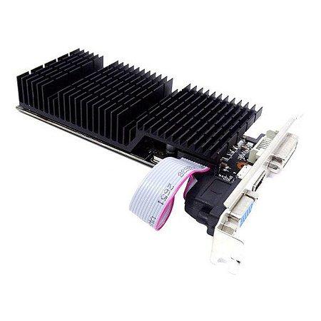 Placa de vídeo PCI-E AFOX nVIDIA GeForce GT 730 2 Gb DDR5 128 Bits (AF730-2048D5L4)