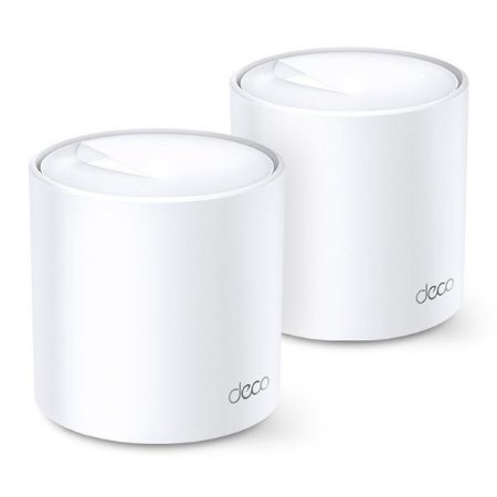 Roteador wireless Mesh WiFi 6 AX1800 1775 Mbps TP-Link Deco X20 (2 Pack)