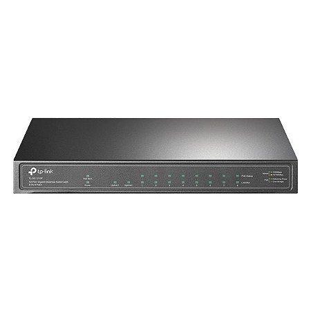 Switch Ethernet 10 portas Gigabit POE+ TP-Link TL-SG1210P