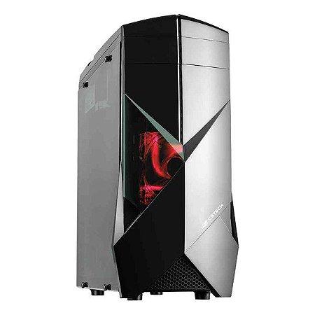 Gabinete gamer C3Tech MT-G300BK