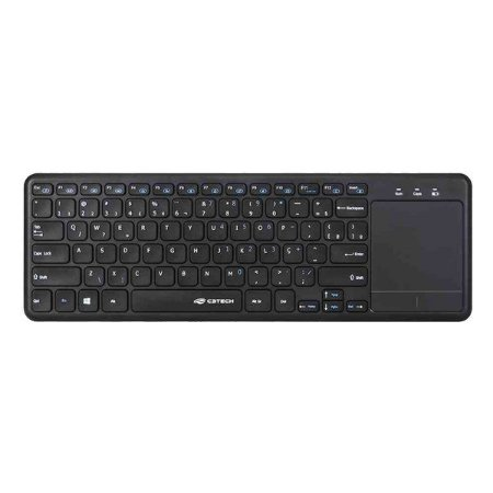 Teclado com touchpad wireless C3Tech K-WT100BK