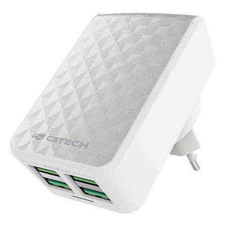 Carregador USB universal C3Tech UC-420WH