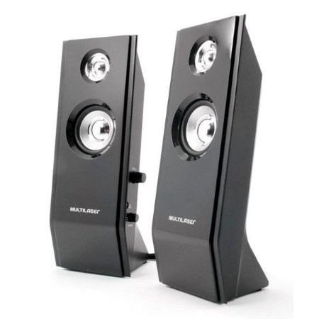 Speaker 2.0 Multilaser Shadow SP091 USB