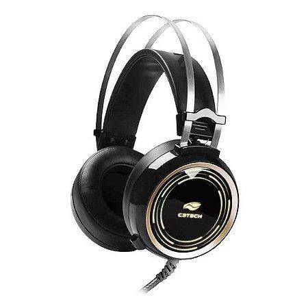 Headset gamer C3Tech Black Kite PH-G310BK