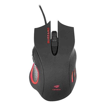 Mouse gamer USB C3Tech Buzzard MG-110BK