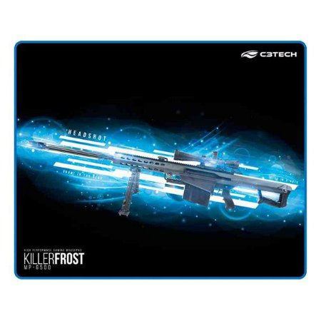 Mouse pad gamer C3Tech Killer Frost MP-G500