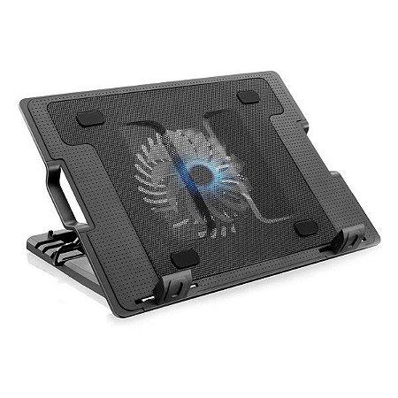 """Base para notebook USB Multilaser Metal Cooler AC166 17"""""""