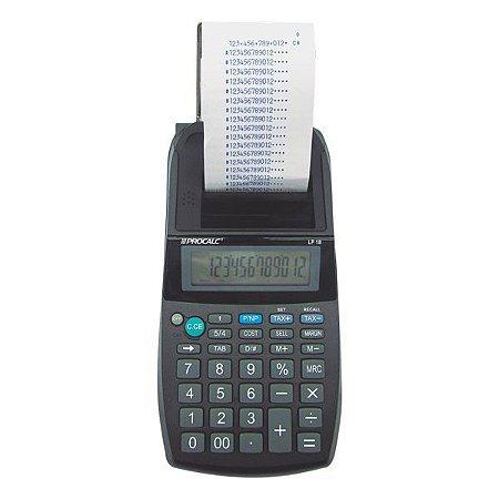 Calculadora de impressão CH Tech Procalc LP18 12 dígitos