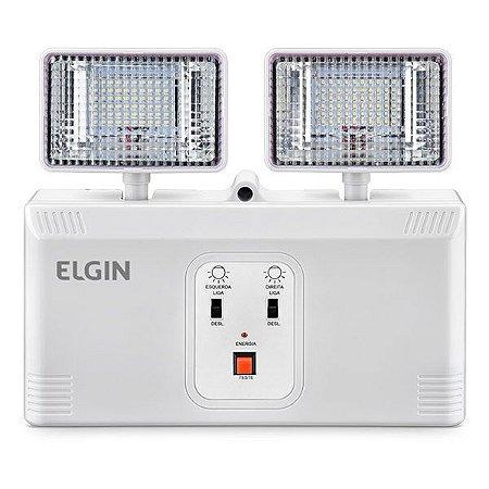 Luminária de emergência LED Elgin Power Line 2000LM