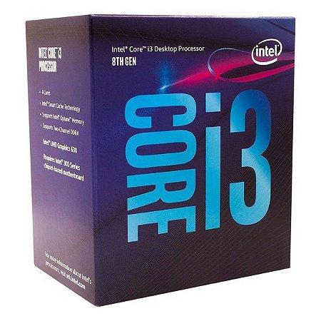 Processador Intel Core i3-8100