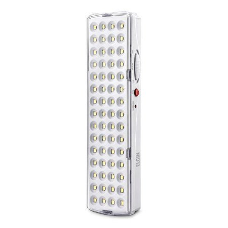 Luminária de emergência Elgin 60 leds