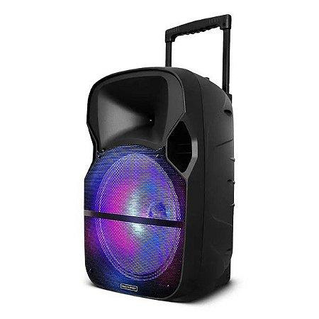 Caixa de som amplificada bivolt Multilaser SP259