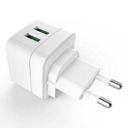 Carregador USB universal C3Tech UC-210WH