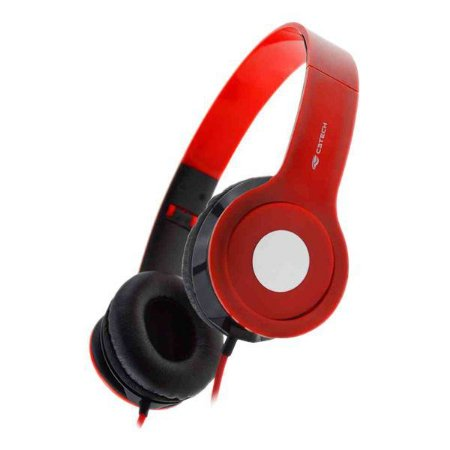 Headset dobrável C3Tech PH-100RD