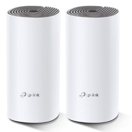 Roteador wireless Mesh AC1200 1167 Mbps TP-Link Deco E4 (2 Pack)