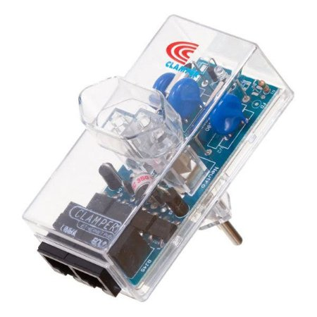 Protetor de surto 3 pinos 10A bivolt Clamper iClamper Energia + Ethernet transparente