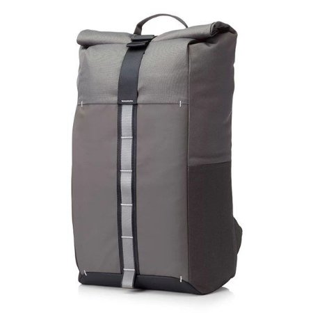 Mochila para notebook HP Pavilion Rolltop cinza (7QQ79LA)