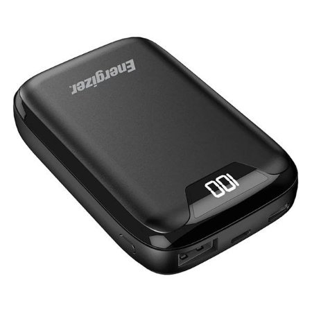 Power bank USB 10000 mAh Energizer Max UE10042 preto