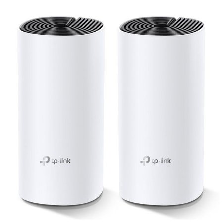 Roteador wireless Mesh AC1200 1167 Mbps TP-Link Deco M4 (2 Pack)