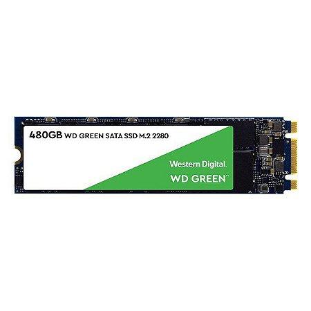 SSD 480 Gb M.2 2280 Western Digital Green Series G2