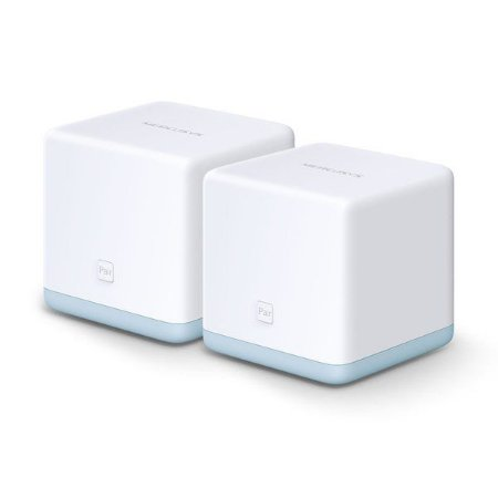 Roteador wireless Mesh AC1200 1167 Mbps Mercusys Halo S12 (2 Pack)