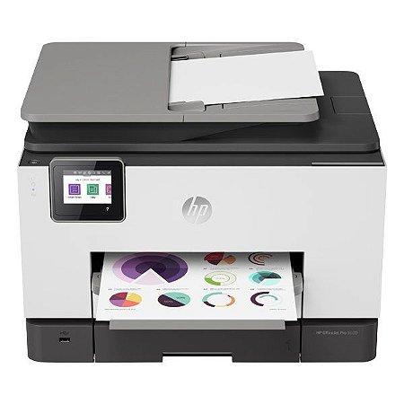 Impressora multifuncional wireless jato de tinta HP OfficeJet Pro 9020 (1MR69C)