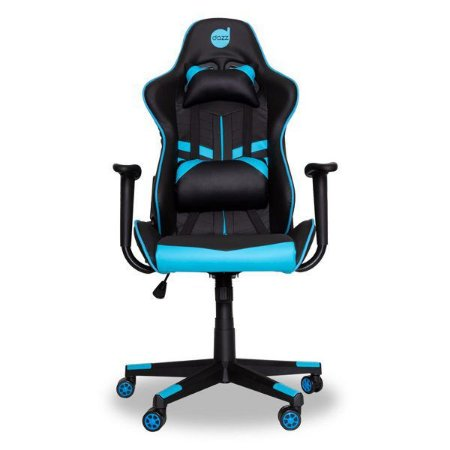 Cadeira gamer dazz Prime-X preta/azul (62000010)
