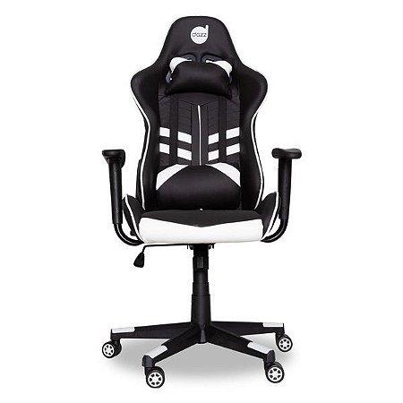 Cadeira gamer dazz Prime-X preta/branca (62000011)